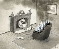 burning-chair